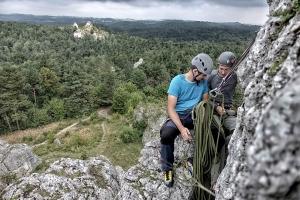 Szkolenie wspinaczkowe w Podlesicach