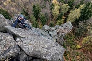 Kurs Wspinaczki Skalnej w Górach Sokolich Alp Studio Szkoła Wspinania