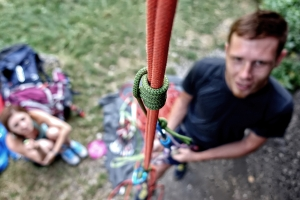 Szkolenie wspinaczkowe w Dolinie Bolechowickiej Alp Studio Szkoła Wspinania