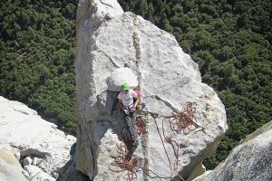 wspinaczka skalna biwak w górach