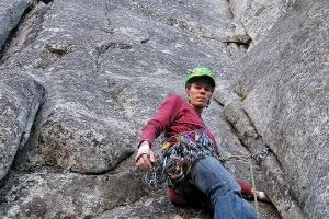 wspinaczka skalna droga wspinaczkowa